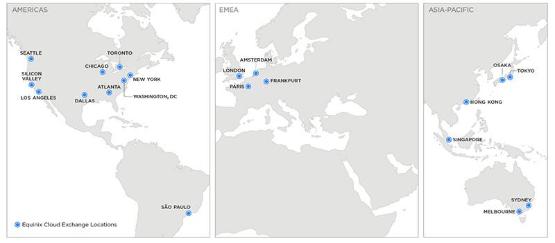 Cloud Exchange Locations
