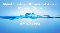 Digital Experience - Bluemix and Watson working together